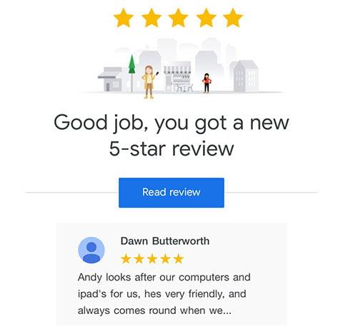 Southport-Web-design-5-Star-Reviews