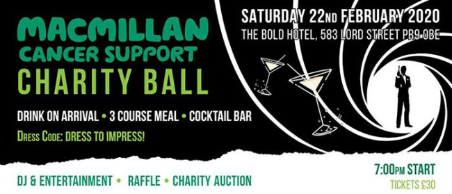 Southport-Web-Design-Macmillan-Charity-Ball